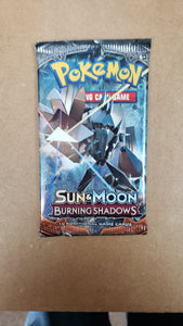 Pokemon Sun and Moon Burning Shadows PACK