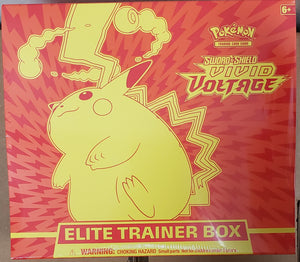Pokemon Sword & Shield Vivid Voltage Elite Trainer Box
