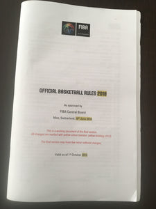 FIBA Official Basketball Rules - 2019 Edition