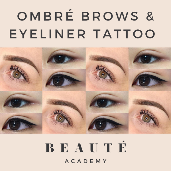 Ombré Brows x Eyeliner Tattoo Bundle