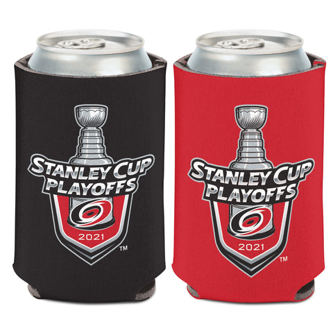 2021 Stanley Cup Playoffs Hurricanes Can Cooler Koozie
