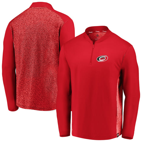 Fanatics Hurricanes Iconic Clutch Stealth 1/4 Zip