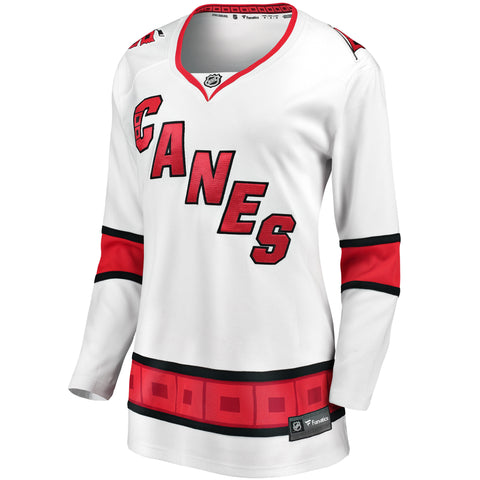 Women's Fanatics Hurricanes Away Jersey