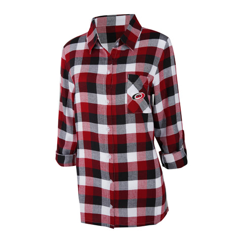 Concepts Sport Ladies Breakout Plaid Nightshirt