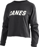 CANES Big Shirt Crop