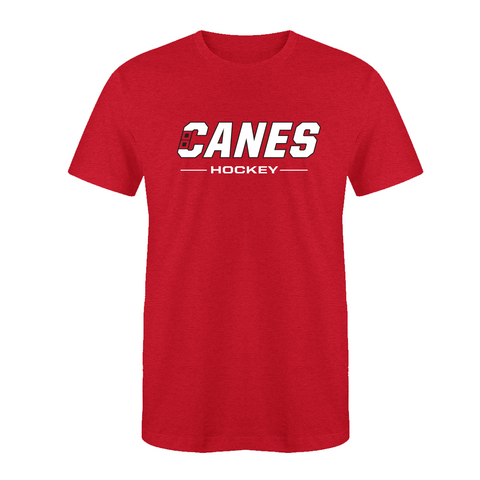 Canes Hockey Wordmark T-Shirt