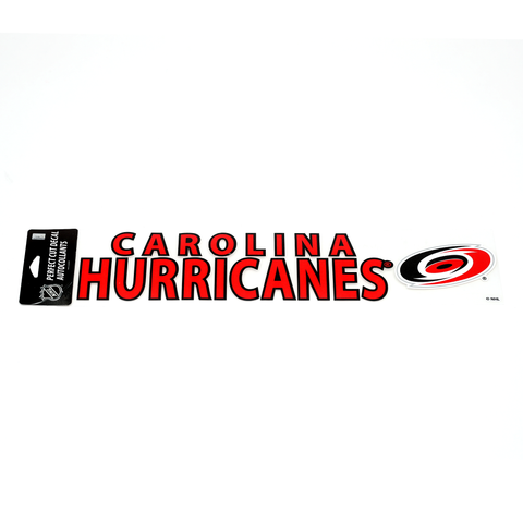 Carolina Pro Shop Carolina Hurricanes Novelties 4 x 17 Die Cut Decal