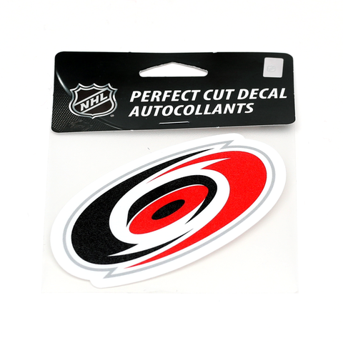 Carolina Pro Shop Carolina Hurricanes Novelties 4 x 4 Die Cut Decal