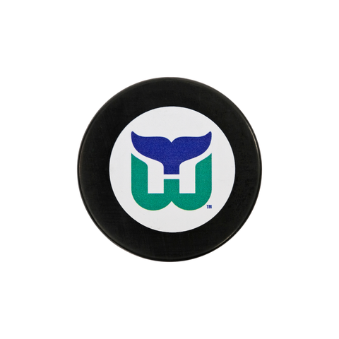 Carolina Pro Shop Carolina Hurricanes Novelties Pucks Hartford Whalers Vintage Heritage Puck