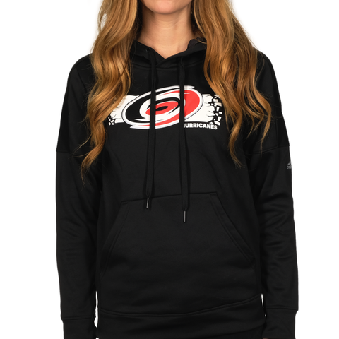 Carolina Pro Shop Carolina Hurricane Womens Big Logo Shatter Sweatshirt