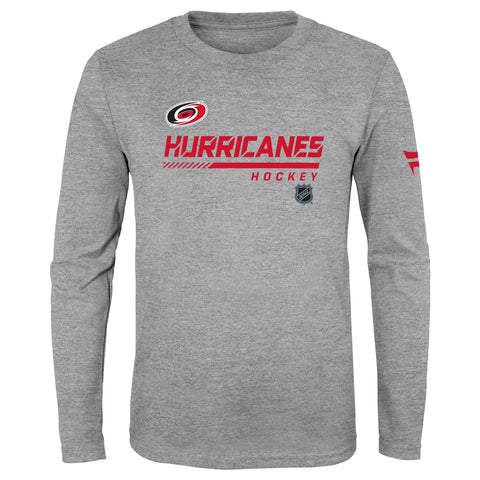 Youth Hurricanes Authentic Pro LS Tee