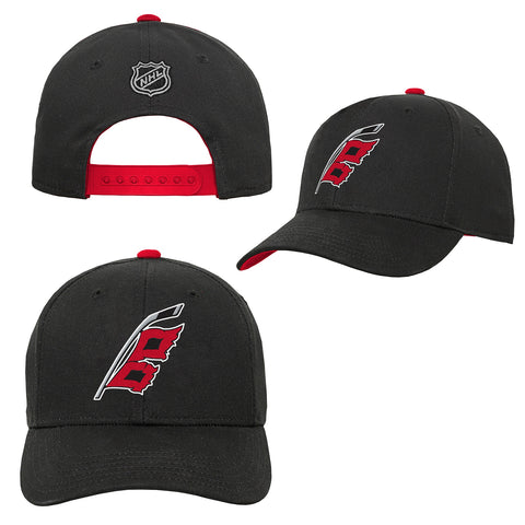 Youth Hurricanes Alternate Precurved Snapback