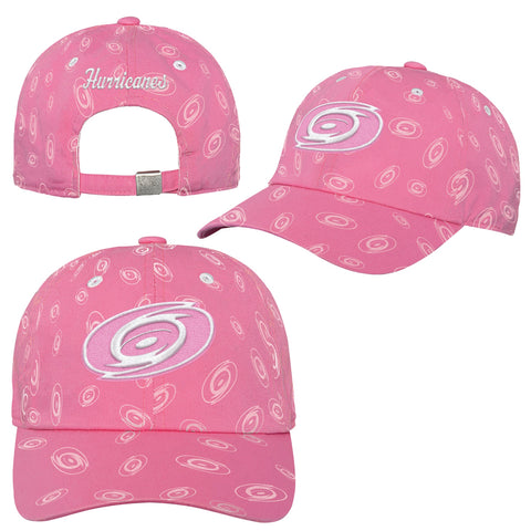 Girls Hurricanes Pink Adjustable Slouch