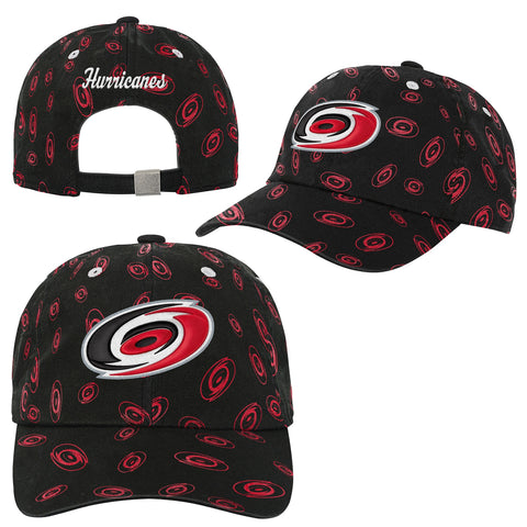 Girls Hurricanes Team Adjustable Slouch
