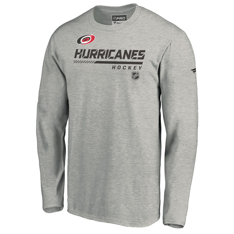 Fanatics Hurricanes Authentic Pro Prime Long Sleeve Tee