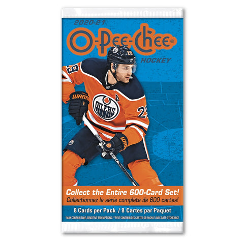 2020-21 O-Pee-Chee Hockey Cards 8pk