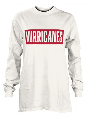 PressBox HURRICANES Big Block Tee