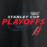 Fanatics Hurricanes Women's 2021 Stanley Cup Playoffs Turnover V-Neck Tee