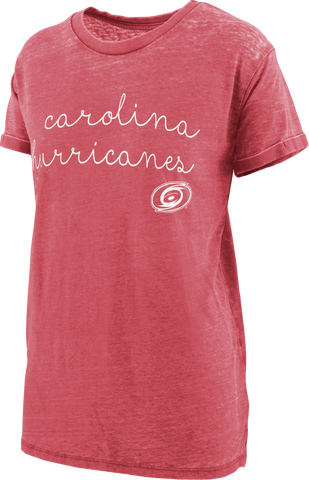 PressBox Ladies Vintage Wash Regan Script Tee