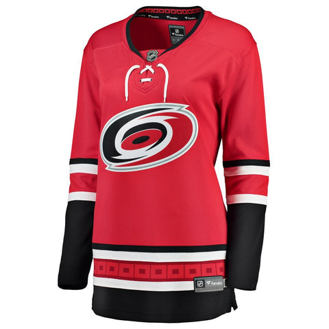 Women's Fanatics Hurricanes Home Jersey