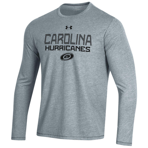 Under Armour Hurricanes Bi-Blend Loose Fit LS Tee