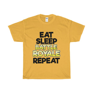 "T-Shirt ""EAT SLEEP BATTLE ROYALE REPEAT"""