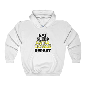 "Hooded Sweatshirt ""EAT SLEEP FORTNITE REPEAT"""