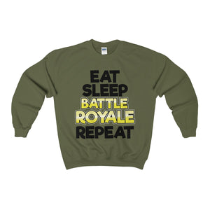 "Sweatshirt ""EAT SLEEP BATTLE ROYALE REPEAT"""