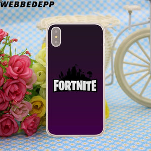 Fortnite  Case for iPhone X, 8, 7, 6, 6S, Plus 5 5S