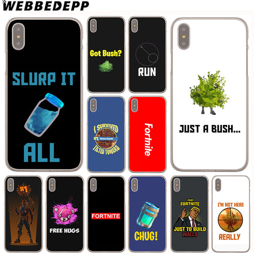 Fortnite  Case for iPhone X or 10 8 7 6 6S Plus 5 5S SE 5C 4 4S