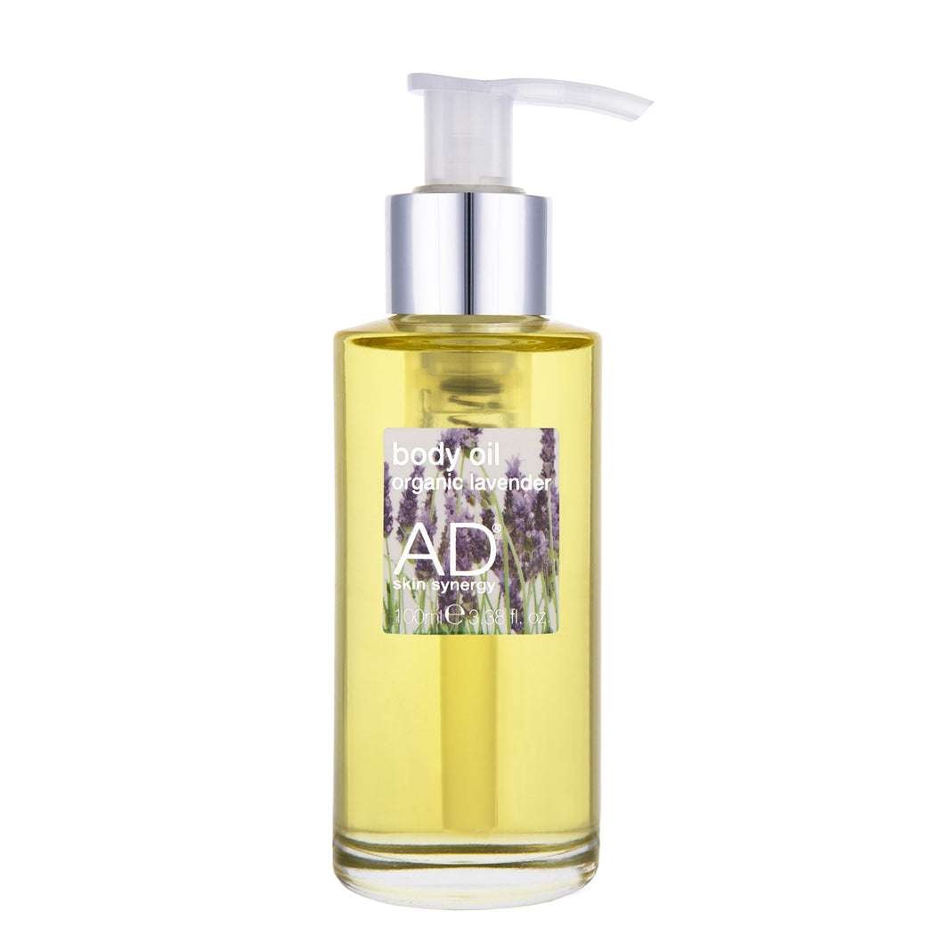 Body Oil Organic Lavender Edition 100ml - AD skin synergy