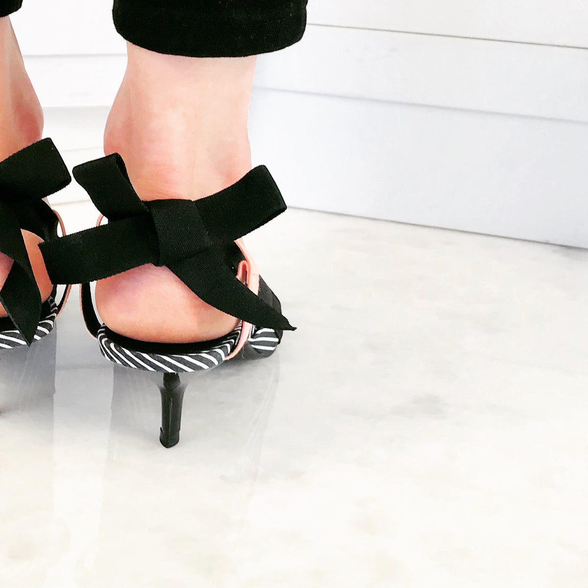 Solewells prevent blisters, pain and soles on fire in flats and kitten heels.