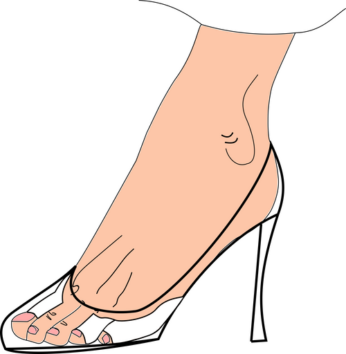 Foot Pads Friction Prevention for Heels and Shoes