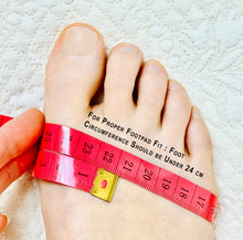 how to measure circumference of the foot for foot pads