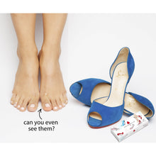 foot pads louboutin suede pumps, how to prevent toe blisters