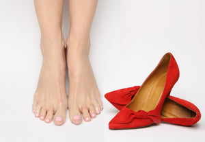 foot pads prevent blisters and irritation in heels and many fashion shoes.