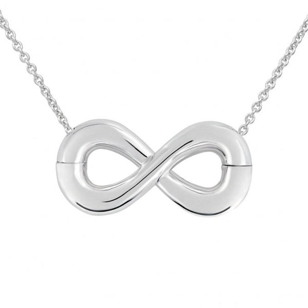 Infinity Classic Sterling Silver Magnetic Split Pendant