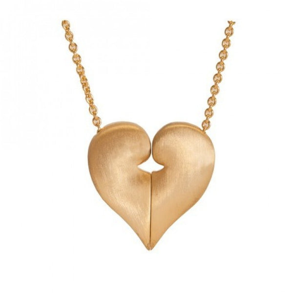 14k Gold Plated United Heart Classic