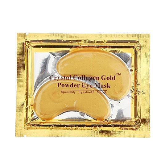 24K Gold Collagen Eye Mask Pads (5 Pairs/10 Pads)