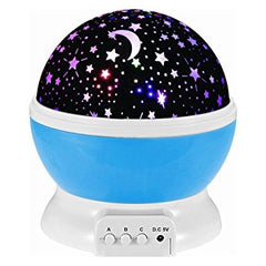 LED Rotating Star Projector Night Light (3 Colors)