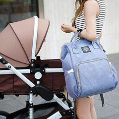 LEQUEEN Baby Diaper Bag Backpack (12 Colors)