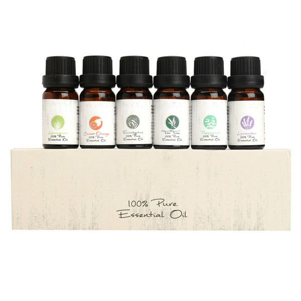 Essential Aromatherapy Oils (6 Pcs/Set)