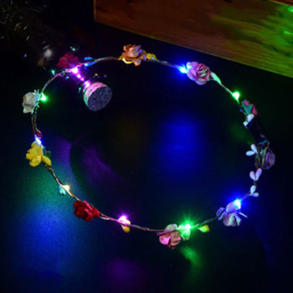 LED Flower Crown (8 Colors)