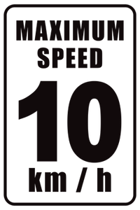Max Speed 10kmh