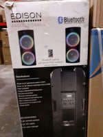 Edison Professional M-7000 High Power Bluetooth PA Speaker