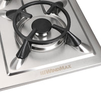 Fashion 86CM Stainless Steel 5 Burner Built-In Stoves NG Gas Cooktop Cooker