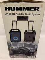 NEW HUMMER BLUETOOTH A1200 PORTABLE BLUETOOTH PARTY SYSTEM