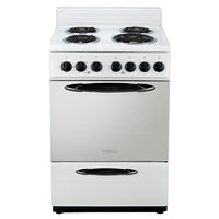 "4 BURNERS  ELECTRIC STOVE PREMIUM with oven 24"" Inches wide perfect for small apartment"
