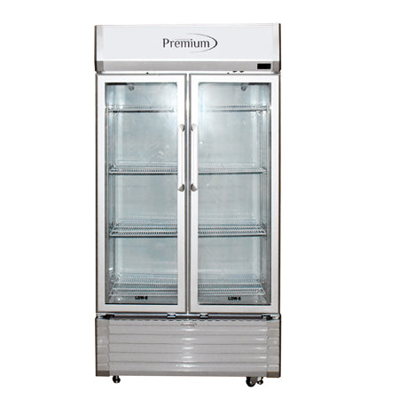 18 FT³ VERTICAL REFRIGERATOR DISPLAY, COOMERCIAL LINE FOR DOMESTIC USE