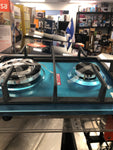 2 burners gas cooktop
